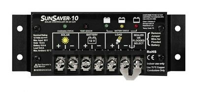 Morningstar SS-10-12V SunSaver Solar Controller 10A 12VDC