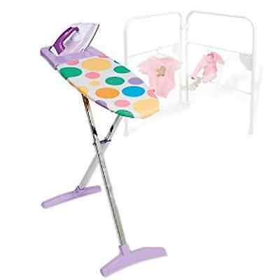 Casdon Ironing Set Iron Board Clothes Airer Drying Rack Toy Laundry Washing Game