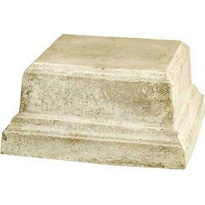 Indoor/Outdoor Garden Pedestal for Urns or Statues by Orlandi Statuary FS8129