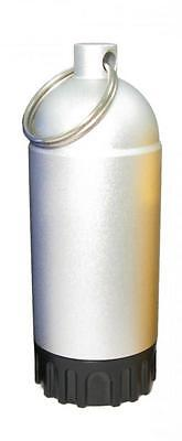 Storm Mini Tank with Pick and O-Rings - Silver for Scuba Divers