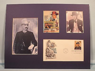 Bat Masterson - Western Gunfighter and Lawman & First Day Cover