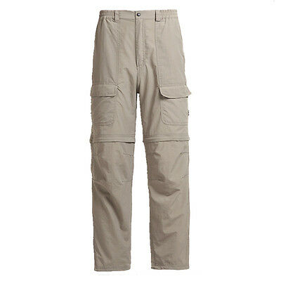 Men's Quick Dry Trousers Hiking Fishing Light Weight UV Protection Casual Pants