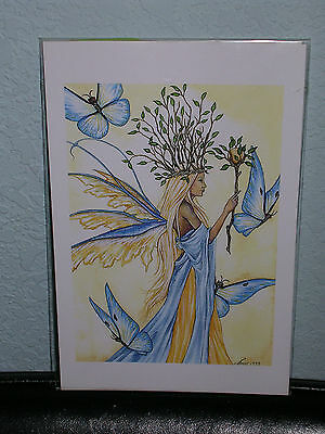 Amy Brown - The Butterfly Queen - Mini Print - VERY RARE
