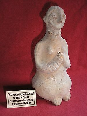 Large Indus Valley Fertility Deity, 3300 - 1300 Bc