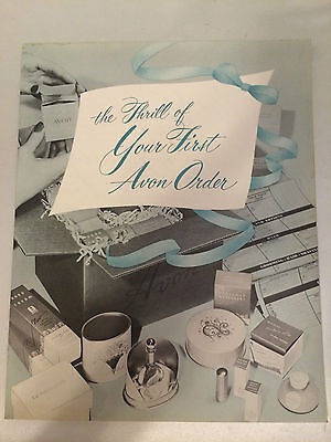 "RARE!! Vintage AVON ""First Order"" New Rep Guide - MINT CONDITION!"