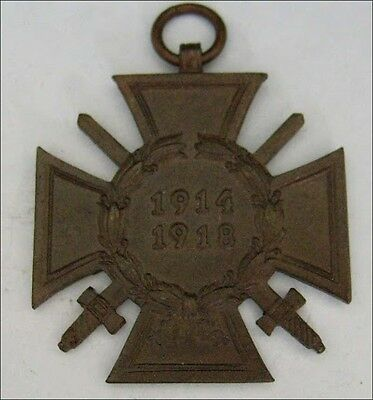 +++ RARE MAKER VINTAGE OLD SOLDIER GERMAN IRON CROSS WAR MEDAL WW2 WWII WWI WW1