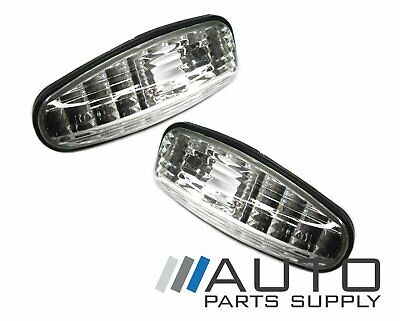 Ford Falcon Clear Guard Indicators Repeaters Lights Suit AU 1998-2002 Models *Ne