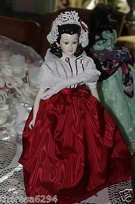 Scarlett O'hara Porcelain Doll Rare And Hard To Find