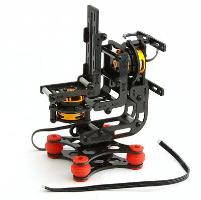 Hifly Gopro 3 Gimbal Brushless Camera Mount with 2x 2208-80T Motors Assembled