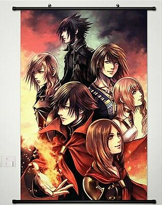 Final Fantasy IX FF 9 VII Home Decor Japanese Poster Wall Scroll New Whole