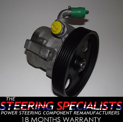 Peugeot Partner 1.6 HDI  2005 to 2008 Genuine Reconditioned Power Steering Pump