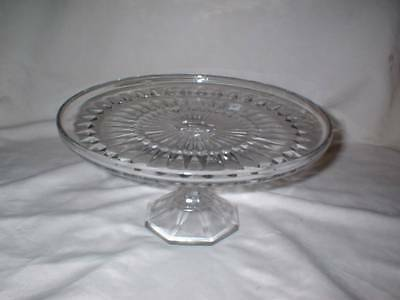 Antique EAPG HS Cake Stand Unknown Pattern