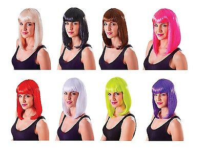 #CHIC DOLL WIGS ALL COLOURS 1980s FANCY DRESS COSTUME ACCESSORY