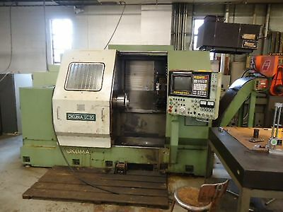 "1984 Okuma LC 30-1ST CNC Lathe With 12 Position Turret and 12"" Chuck 3Ph 220/440"