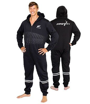 New Zealand All Blacks Adult Footysuit Bodysuit 'Select Size' XS-4XL BNWT Rugby