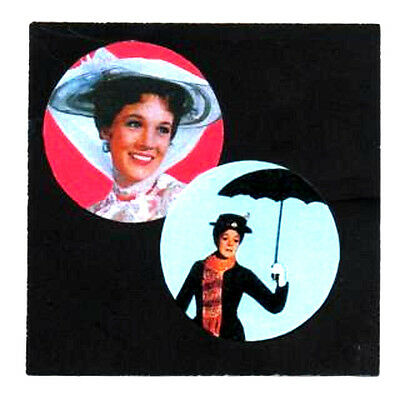 2 MARY POPPINS BADGES. Julie Andrews.