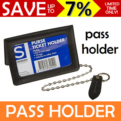 Ticket Holder Purse With Chain Money Ticket Pass Train Bus Card Id Sovereign
