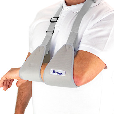 Actesso Web Arm Sling :: Padded Shoulder Support For Sprain Injury Fracture Cast