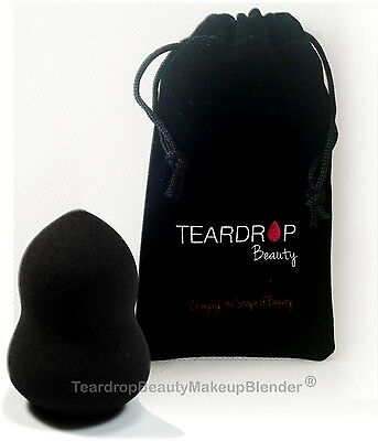 ( BLACK) Original Teardrop Beauty Makeup Blender® GOURD Sponge Foundation Smooth