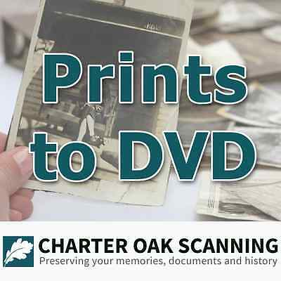 500 Prints converted to DVD [Photo Scanning Service]