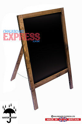 A Board Pavement Display Frame Stand Blackboard Chalk Single Sided Chalkboard