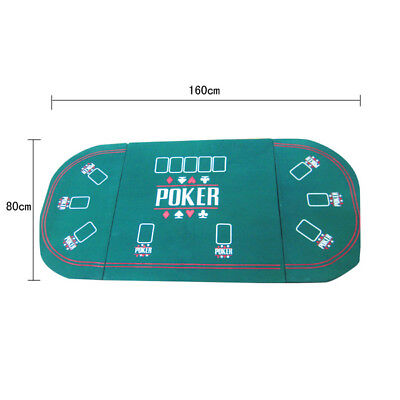 Premiun Blackjack Foam 160x80cm Casino Game Poker Table Top Layout Mat Pad