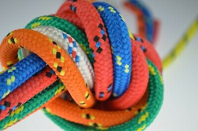 4mm Braided Polypropylene Poly Rope 100% Sailing Yacht Boat Various Colours