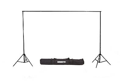 StudioPRO Studio 10ft Wide Heavy-Duty Portable Background Support System w/ Case