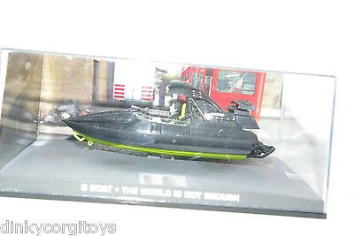 James Bond 007 The World Is Not Enough Q Boat Mib Rare Selten