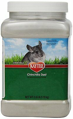 Kaytee Chinchilla Dust, 2 Pounds 8 ounces Jar, New, Free Shipping