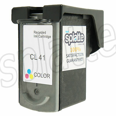 1 Remanufactured Color Ink Cartridge for Canon iP6310 MP150 MP160 MP170 - CL-41
