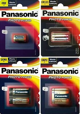 Pila Panasonic Cr123 Cr2 2Cr5 Crp2 Litio Camara Foto Photobattery Lithium