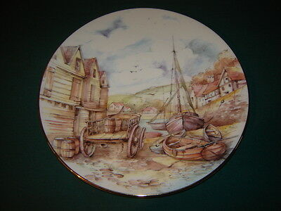 ROYAL GRAFTON PLATE - HARBOUR SCENES - No.3 - LAZY DAYS