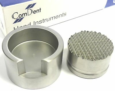 Dental Implant Large Bone Crusher  Grinder    St Steel CE  Ref :- 19-692