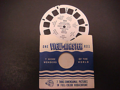Sawyer's Viewmaster Reel, 1950,Duluth &  North Shore Drive,Iron Mines,Elgin #205