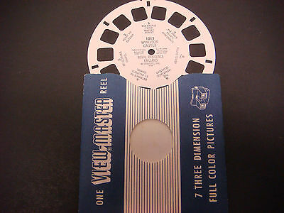Sawyer's Viewmaster Reel,1948,Windsor Castle Royal Residence, England  #1013