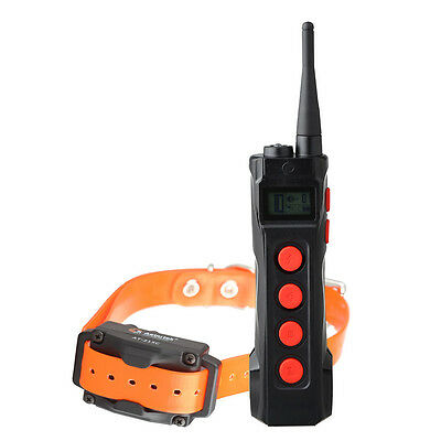 New Aeteretk AT-919 1000m Remote Range Rechargeable Waterproof Dog Shock Collar