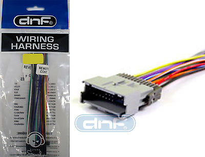 car stereo cd player aftermarket radio wiring harness (70-2102) - saturn ion