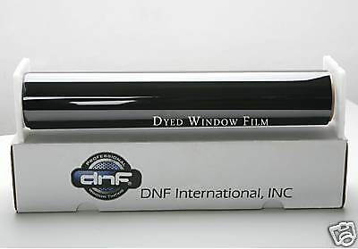 "Dnf Window Car Tint Charcoal 35% 50% 60"" X 100 Ft (Free Cutting Service!)"