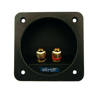 Speaker Box Terminal Square Twist Cup Connector Home Car Subwoofer Enclosure