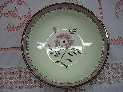 """Stangl Colonial Rose 8"""" Round Vegetable Bowl  Hand Painted"""