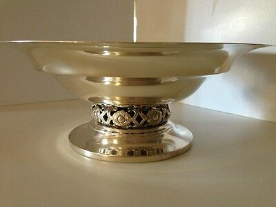 beautiful vintage By Towle Sterling Silver compote