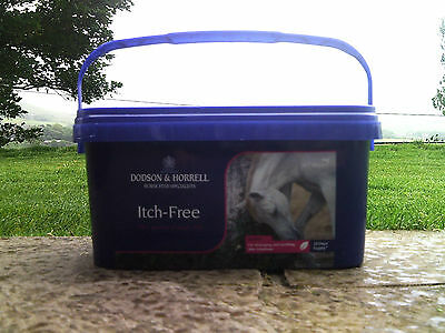 DODSON & HORRELL ITCH-FREE 1kg Horse Pony Feed Supplement