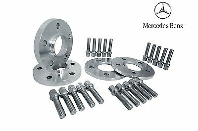 (2) 10mm & (2) 12mm Hub Centric Mercedes Benz Spacers Kit 5x112 & 66.56mm Bore