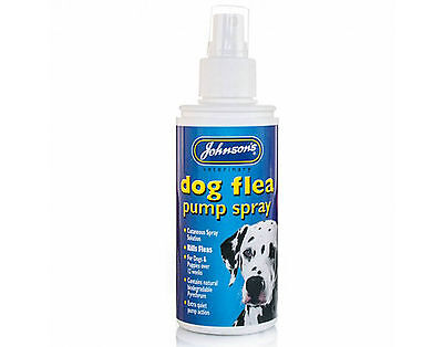 Johnsons Dog Flea Pump Spray