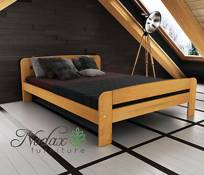 Brand New Solid Pine Bed Frame & Slats **European Size 160/200 cm - F2
