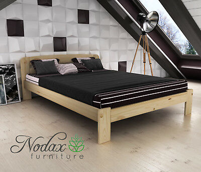 New Solid Pine King Size Bed Frame&Slats  ***European Size 160/200 cm - F4