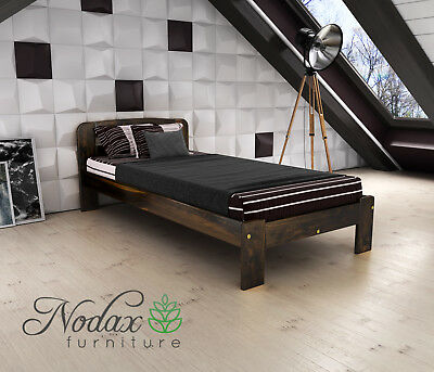 New Solid Pine Single Bed Frame & Slats **European Size 90/200 cm - F4