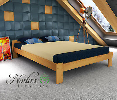 New Wooden Pine European Double Size Bed Frame & Slats**Various Colours - F5