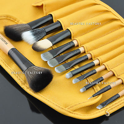 12 pieces Cosmetic Makeup Brushes Set Kit Summer Peru #831E